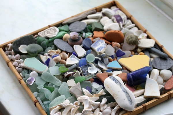 My Scottish beach combing collection.